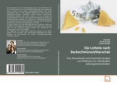Couverture de Die Lotterie nach Becker/DeGroot/Marschak