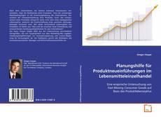 Обложка Planungshilfe für Produktneueinführungen im Lebensmitteleinzelhandel
