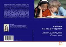 Capa do livro de Children's Reading Development
