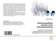 Capa do livro de Domänenspezifische Sprachen in der Softwareentwicklung