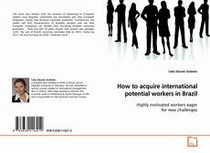 Buchcover von How to acquire international potential workers in Brazil
