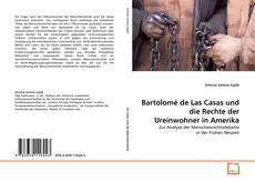 Portada del libro de Bartolomé de Las Casas und die Rechte der Ureinwohner in Amerika