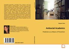 Couverture de Antisocial Academics