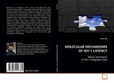 Portada del libro de MOLECULAR MECHANISMS OF HIV-1 LATENCY