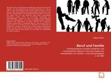 Portada del libro de Beruf und Familie