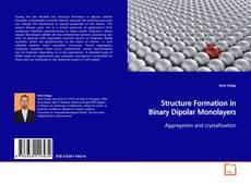 Capa do livro de Structure Formation in Binary Dipolar Monolayers