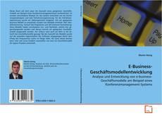 Buchcover von E-Business-Geschäftsmodellentwicklung