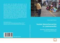 Soziale Menschenrechte in Lateinamerika的封面
