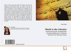 Musik in der Literatur kitap kapağı