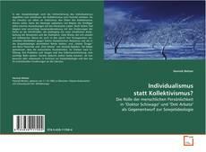 Bookcover of Individualismus statt Kollektivismus?