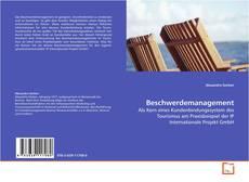 Bookcover of Beschwerdemanagement