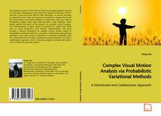 Bookcover of Complex Visual Motion Analysis via Probabilistic Variational Methods