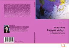 Copertina di Contrastive Discourse Markers