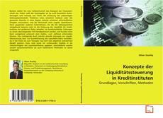 Bookcover of Konzepte der Liquiditätssteuerung in Kreditinstituten