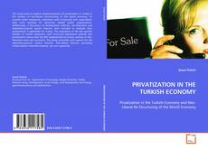 Bookcover of PRIVATIZATION IN THE TURKISH ECONOMY