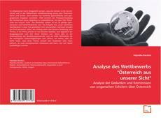 """Bookcover of Analyse des Wettbewerbs """"Österreich aus unserer Sicht"""""""