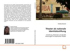 Theater als nationale Identitätsstiftung kitap kapağı