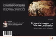 Capa do livro de Die deutsche Rezeption von Attila József im Überblick