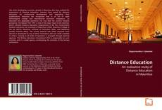 Buchcover von Distance Education