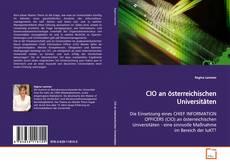 Обложка CIO an österreichischen Universitäten