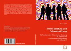 Portada del libro de Interne Beratung und Schulentwicklung