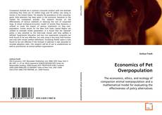 Portada del libro de Economics of Pet Overpopulation