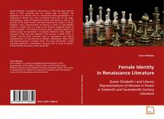 Portada del libro de Female Identity in Renaissance Literature
