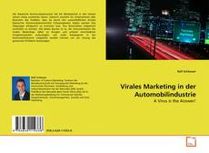 Buchcover von Virales Marketing in der Automobilindustrie