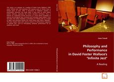 """Buchcover von Philosophy and Performance in David Foster Wallace's """"Infinite Jest"""""""
