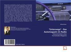 "Copertina di ""Unterwegs"" - Das Automagazin im Radio"