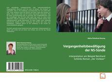Bookcover of Vergangenheitsbewältigung der NS-Sünde