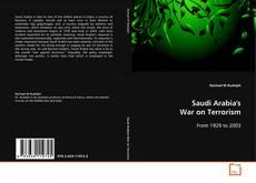 Bookcover of Saudi Arabia's War on Terrorism