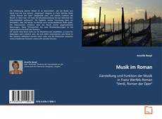 Musik im Roman kitap kapağı