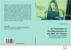 Обложка An Evaluation of the Effectiveness of the ENG 101 Course