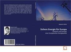 Capa do livro de Sichere Energie für Europa