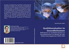 Qualitätsevaluation im Gesundheitswesen kitap kapağı