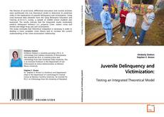 Bookcover of Juvenile Delinquency and Victimization: