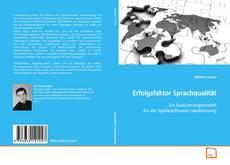 Buchcover von Erfolgsfaktor Sprachqualität
