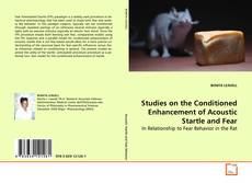 Capa do livro de Studies on the Conditioned Enhancement of Acoustic Startle and Fear