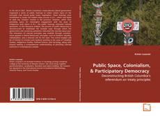 Portada del libro de Public Space, Colonialism,