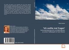 """Portada del libro de """"Ich wollte mal fragen"""""""