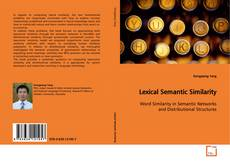 Couverture de Lexical Semantic Similarity
