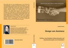 Buchcover von Design von Assistenz