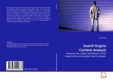 Buchcover von Search Engine Content Analysis