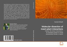 Couverture de Molecular dissection of insect-plant interactions