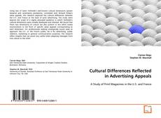 Bookcover of Cultural Differences Reflected in Advertising Appeals