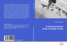 Capa do livro de A Psychomechanical Study of Rolling Sounds