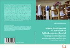 Capa do livro de Internationalisierung im italienischen Bekleidungseinzelhandel