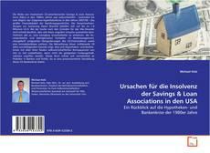 Couverture de Ursachen für die Insolvenz der Savings