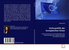Buchcover von Kulturpolitik der Europäischen Union